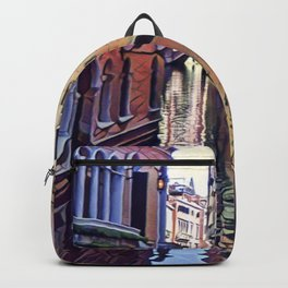 Enchanting Venice Canal Backpack