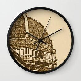 Il Duomo di Firenze Wall Clock