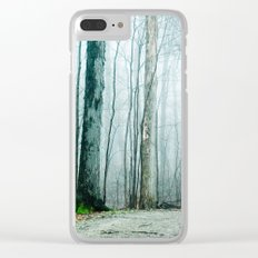 Feel the Moment Slip Away Clear iPhone Case