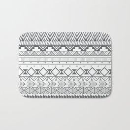 Aztec pattern 004 Bath Mat