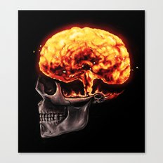 Mind Blown Canvas Print