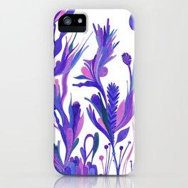 Cobalt garden iPhone Case
