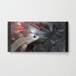 technocalyptictemple_01_color Metal Print