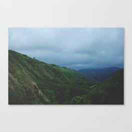 Maui Green Canvas Print