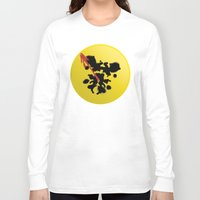 watchmen Long Sleeve T-shirts featuring Watchmen poster by Lionel Hotz