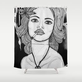 Amsterdam Girl Shower Curtain