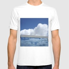Sky and reflection  Mens Fitted Tee White MEDIUM