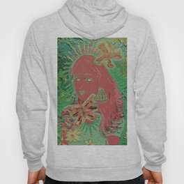 Mint Butterfly Queen Hoody