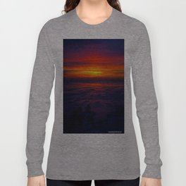 Sunrise in the Vortex Long Sleeve T-shirt