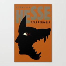 Sacred Geometry for your daily life - HHESSE STEPPEN WOLF Canvas Print