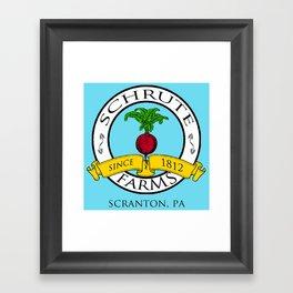 Schrute Farms   The Office - Dwight Schrute Framed Art Print