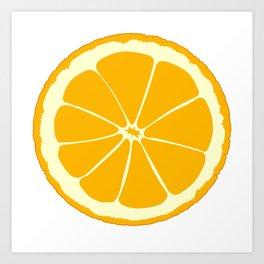 Orange Slice Art Print