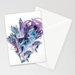 Liquid Crystal Stationery Cards