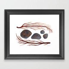 Sticks & Stones No. 2 Framed Art Print