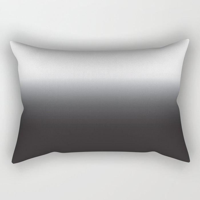 Ombre B&W Clothing Rectangular Pillow