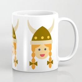a viking girl Coffee Mug