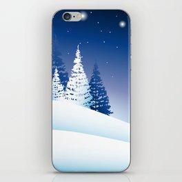 winternight iPhone Skin