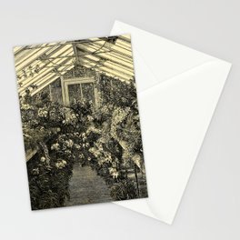 Mr. Normans Show-House for Orchids 1877 Stationery Cards
