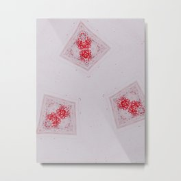 Mitosis in Red Metal Print