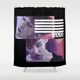 G Dragon Made Shower Curtain