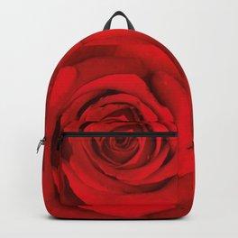 Lovely Red Rose Backpack