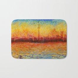 Toronto Skyline 35 Bath Mat