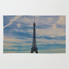 Eiffel Tower, Paris (Landscape) Rug