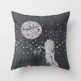 love art Throw Pillow