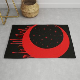 Red Moon Rug