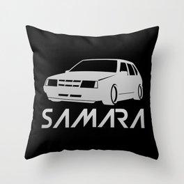 Lada Samara - silver - Throw Pillow