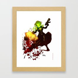 Anne Frankenstein AF2 Framed Art Print