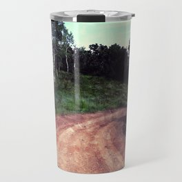 A Curve In The Road Travel Mug