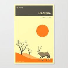NAMIBIA TRAVEL POSTER Canvas Print