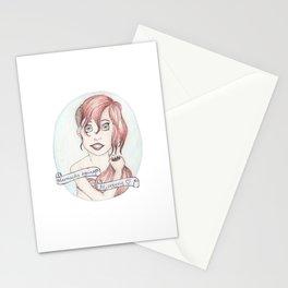 Mermaid Against Misogyny Stationery Cards