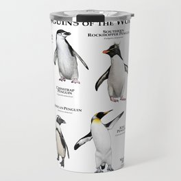 Penguins of the World Travel Mug