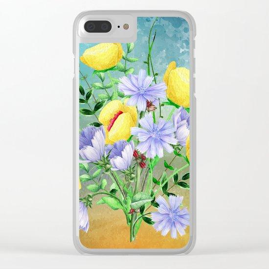 Flowers bouquet #21 Clear iPhone Case