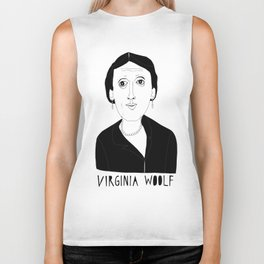 Virginia Woolf Biker Tank