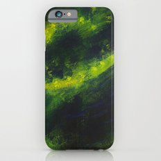 Green Galaxy iPhone 6s Slim Case