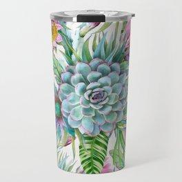 Exotic flower garden Travel Mug