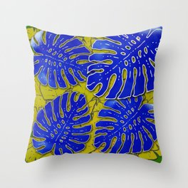 Jungle Groove Throw Pillow