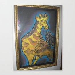 Kingly Lion Canvas Print
