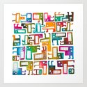 Tetris Monsters by nicalorber