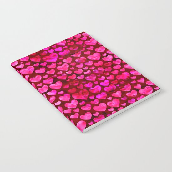 Heart Pattern 01 Notebook