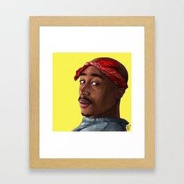 Pac Portrait Framed Art Print