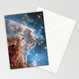 Monkey Head Nebula Stationery Cards