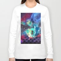 whisky Long Sleeve T-shirts featuring SPACE by sametsevincer