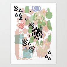 spring 2 modern contemporary Art Print