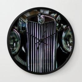 MG TC Wall Clock