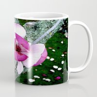 magnolia Mugs featuring Magnolia by Madison Webb