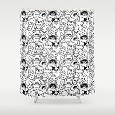 Oh Cats Shower Curtain
